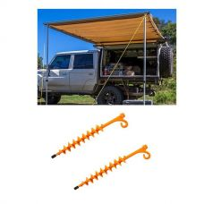 Adventure Kings Awning 2x3m + 2x GroundGrabba - Lite
