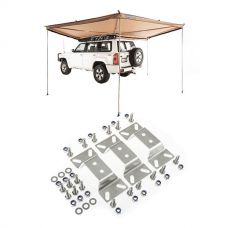 Adventure Kings 270° King Wing Awning + Awning bracket kit (for Grand Tourer RTT)
