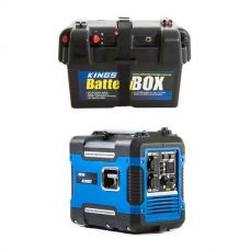 Adventure Kings 2KVA Generator Closed Case + Battery Box