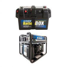 Adventure Kings 3.5kVA Open Generator + Battery Box