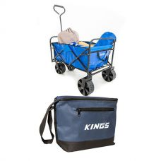 Adventure Kings Collapsible Cart + Cooler Bag