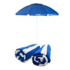 Adventure Kings Beach Umbrella + Beach Towel
