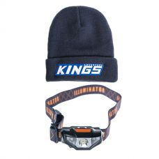Adventure Kings Camper's Beanie + Illuminator LED Head Torch