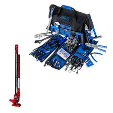 "Big Daddy Bush Mechanic Toolkit  + Hercules 48"" Offroad Jack"