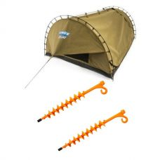 Adventure Kings Double Swag Big Daddy Deluxe + 2x GroundGrabba - Lite