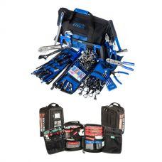 Big Daddy Bush Mechanic Tool Kit + 100+ Piece Survival 'Vehicle' First-Aid Kit