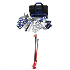 "Adventure Kings Tool Kit - Ultimate Bush Mechanic + Hercules 48"" Offroad Jack"