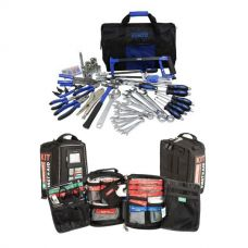 Adventure Kings Tool Kit - Ultimate Bush Mechanic + 100+ Piece Survival 'Vehicle' First-Aid Kit