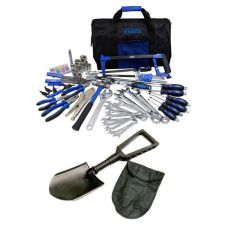 Adventure Kings Tool Kit - Ultimate Bush Mechanic + Recovery Folding Shovel