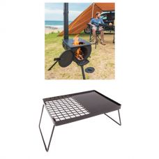 Adventure Kings Camp Oven/Stove + Essential BBQ Plate