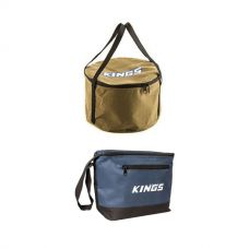 Adventure Kings Camp Oven Canvas Bag + Cooler Bag