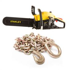 Stanley Camping Chainsaw + Hercules Drag Chain