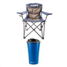 Adventure Kings Throne Camping Chair + 410ml Travel Mug