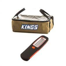 Adventure Kings Clear Top Canvas Bag + Kings LED Work Light