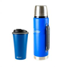 Adventure Kings 1.2L Vacuum Flask + 410ml Travel Mug