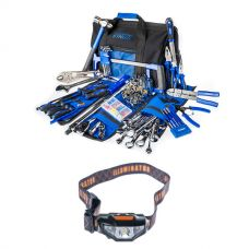 Big Daddy Bush Mechanic Toolkit + LED Head Torch