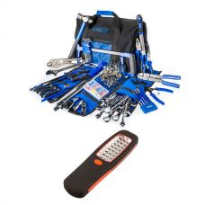 Big Daddy Bush Mechanic Toolkit + Illuminator 24 LED Work Light