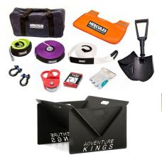 Hercules Complete Recovery Kit + Kings Portable Steel Fire Pit