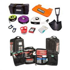 Hercules Complete Recovery Kit + 100+ Piece Survival 'Vehicle' First-Aid Kit