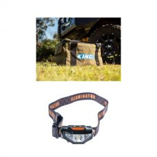 Adventure Kings Canvas Thumper Bag + LED Head Torch