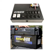 Adventure Kings 12V Control Box + Maxi Battery Box