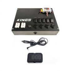 12V Control Box + Heads Up Display (HUD)