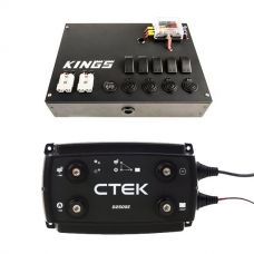 Kings 12V Control Box + CTEK D250SE DC/DC 20A Dual Battery System