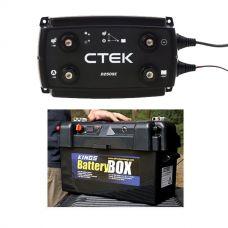 Adventure Kings Maxi Battery Box + CTEK D250SE DC/DC 20A Dual Battery System