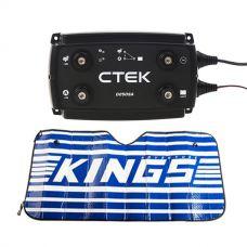 CTEK D250SA DC/DC 20A Dual Battery System/Solar Controller + Sunshade