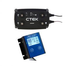 CTEK D250SE DC/DC 20A Dual Battery System + 12V Battery Monitor