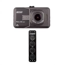 Adventure Kings Dash Camera + 12V Accessory Panel