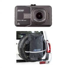 Adventure Kings Dash Camera + Premium 48L Dirty Gear Bag