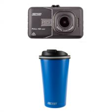 Adventure Kings Dash Camera + Kings 410ml Travel Mug