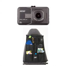 High-Def Dash Camera + Car Seat Organiser