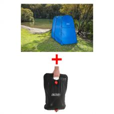 Adventure Kings Double Ensuite/Shower Tent + Solar Shower