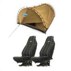 Adventure Kings Double Swag Big Daddy Deluxe + Adventure Kings Heavy Duty Seat Covers