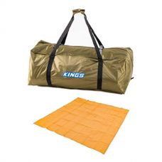 Kings Deluxe Single Swag Polyester Bag + Mesh Flooring 3m x 3m