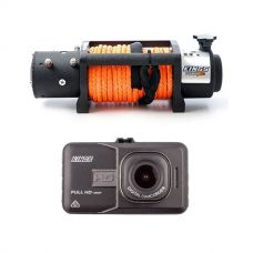Domin8r X 12,000lb Winch with rope + Dash Cam