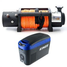 Domin8r X 12,000lb Winch with rope + 15L Centre Console Fridge/Freezer
