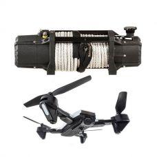 Domin8r Xtreme 12,000lb Winch + Cyclone Drone