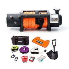 Domin8r X 12,000lb Winch with rope + Hercules Complete Recovery Kit