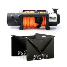 Domin8r X 12,000lb Winch with rope + Kings Portable Steel Fire Pit
