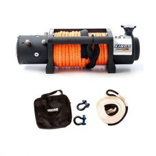 Domin8r X 12,000lb Winch with rope + Hercules Snatch Strap Kit
