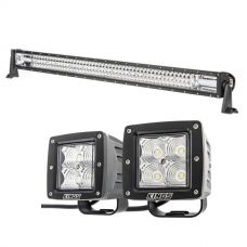 "Kings 42"" Deluxe Lightbar + Kings 3"" Work Lights (Pair)"