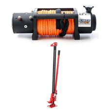 Domin8r X 12,000lb Winch with rope + Hercules Offroad Jack 48""