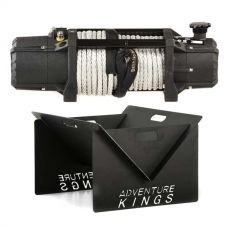 Domin8r Xtreme 12,000lb Winch + Kings Portable Steel Fire Pit