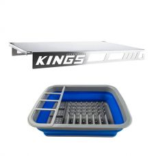 Adventure Kings Drawer Table suitable for 1070mm Titan Drawers + Collapsible Dish Rack