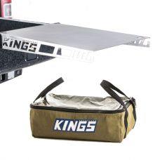 Adventure Kings Drawer Table suitable for 1070mm Titan Drawers + Adventure Kings Clear Top Canvas Bag