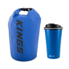 Kings 15L Dry Bag + 410ml Travel Mug