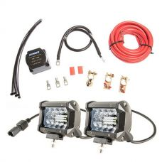 "Adventure Kings Dual Battery System + 4"" LED Light Bar"